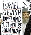 Israel is the Jews' homeland, politicians don't have the right to give it away!!!!!!!